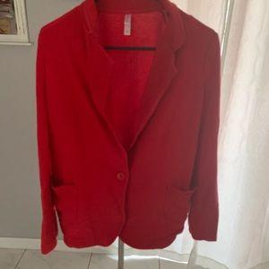 Jackets & Blazers - Red casual blazer